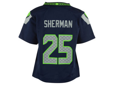 Seattle Seahawks Richard Sherman Nike NFL Infant Game Jersey