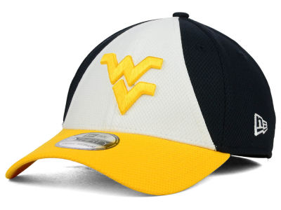 West Virginia Mountaineers New Era NCAA Game Performance 39THIRTY Cap