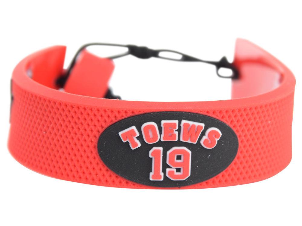 Chicago Blackhawks Jonathan Toews Hockey Bracelet