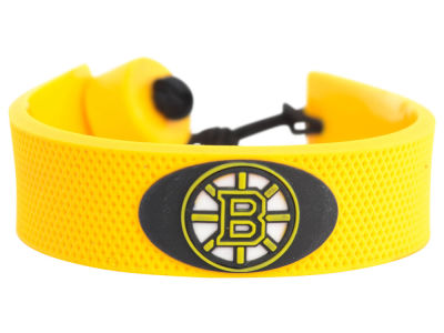 Boston Bruins Team Color Hockey Bracelet