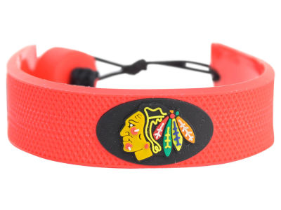 Chicago Blackhawks Team Color Hockey Bracelet