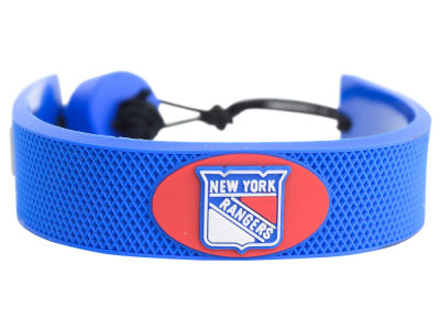 New York Rangers Team Color Hockey Bracelet