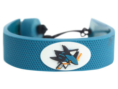 San Jose Sharks Team Color Hockey Bracelet
