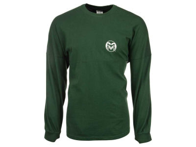 Colorado State Rams NCAA Women's Sweeper Long Sleeve Solid T-Shirt