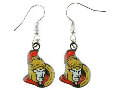 Ottawa Senators Logo Dangle Pendant Earrings
