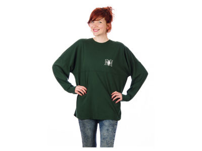 Hawaii Warriors NCAA Women's Sweeper Long Sleeve Solid T-Shirt