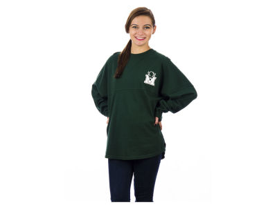 Marshall Thundering Herd NCAA Women's Sweeper Long Sleeve Solid T-Shirt