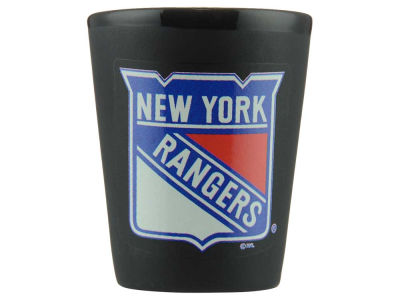 New York Rangers 2oz Collector Glass-Black