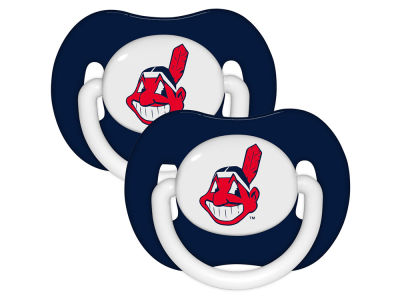 Cleveland Indians 2-pack Pacifier Set