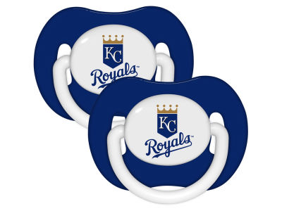 Kansas City Royals 2-pack Pacifier Set