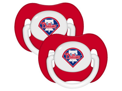 Philadelphia Phillies 2-pack Pacifier Set