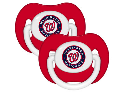 Washington Nationals 2-pack Pacifier Set