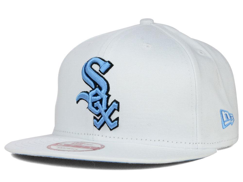 89b839cf24a Chicago White Sox New Era MLB Legend Blue Hook 9FIFTY Snapback Cap ...