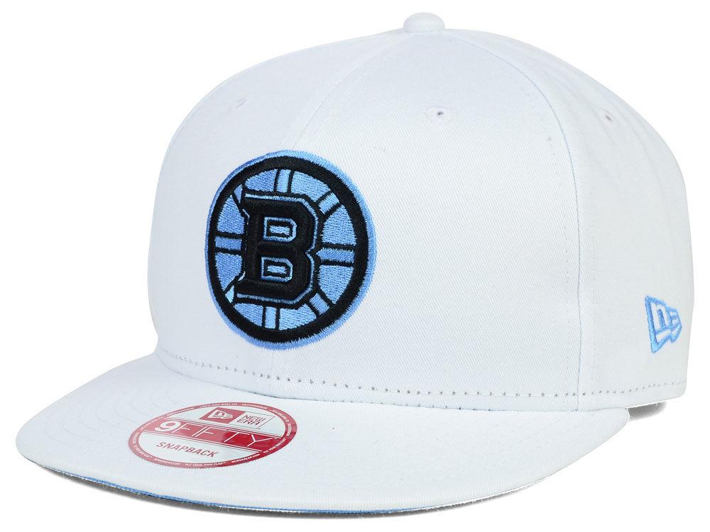 Boston Bruins New Era NHL Legend Blue 9FIFTY Snapback Cap  69ddb8ced74