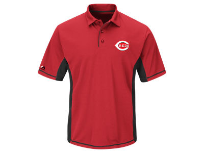 Cincinnati Reds MLB Men's Top of the Inning Polo Shirt