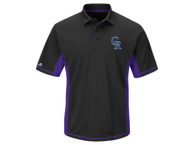 Colorado Rockies MLB Men's Top of the Inning Polo Shirt