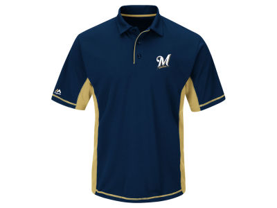 Milwaukee Brewers MLB Men's Top of the Inning Polo Shirt