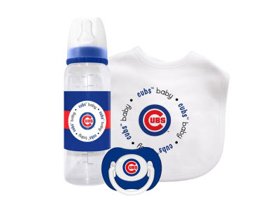 Chicago Cubs 3pc Baby Gift Set