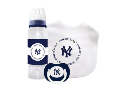 New York Yankees 3pc Baby Gift Set