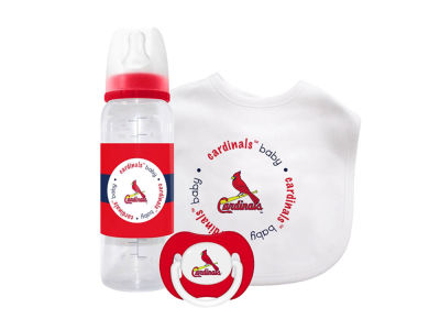 St. Louis Cardinals 3pc Baby Gift Set