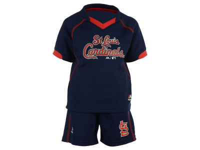 St. Louis Cardinals MLB Infant Lead Hitter Shirt and Shorts Set