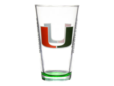 Miami Hurricanes Elite Pint Glass