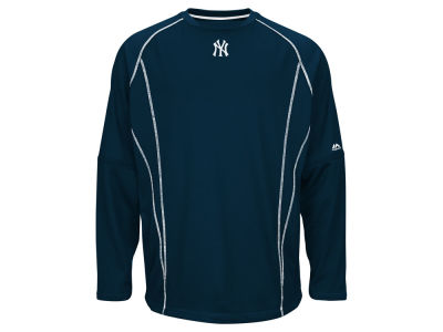 New York Yankees MLB Men's AC Practice Pullover Shirt
