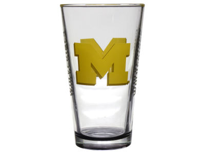 Michigan Wolverines Elite Pint Glass