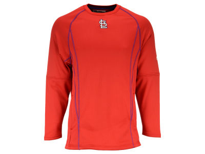 St. Louis Cardinals MLB Men's AC Practice Pullover Shirt
