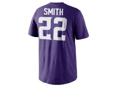 Minnesota Vikings Harrison Smith Nike NFL Pride Name and Number T-Shirt