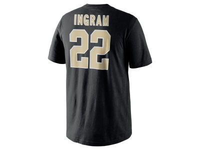 New Orleans Saints Mark Ingram Jr. Nike NFL Men's Pride Name and Number T-Shirt