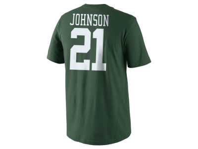 New York Jets Chris Johnson Nike NFL Men's Pride Name and Number T-Shirt