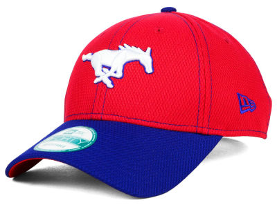 Southern Methodist Mustangs New Era NCAA Fundamental Tech 9FORTY Cap