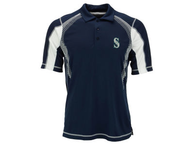 Seattle Mariners MLB Men's Gauge Polo Shirt