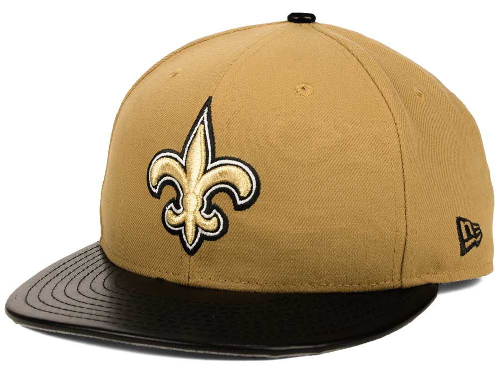 buy online 748f5 39b77 ... best price new orleans saints new era nfl leather wheat 9fifty snapback  cap f1721 d7d32