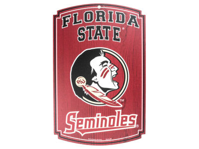 Florida State Seminoles 11x17 Wood Sign
