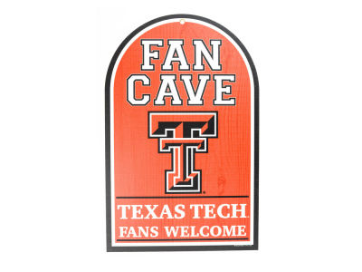 Texas Tech Red Raiders 11x17 Wood Sign