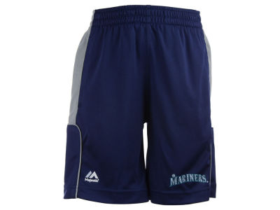 Seattle Mariners MLB Youth Batters Choice Shorts