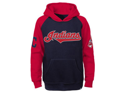 Cleveland Indians MLB Youth Cunning Play Hoodie