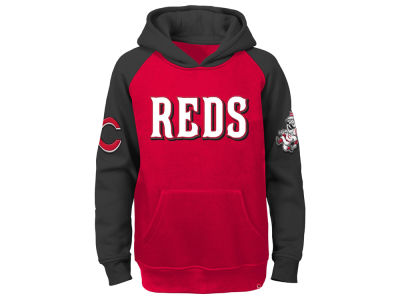Cincinnati Reds MLB Youth Cunning Play Hoodie
