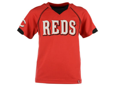 Cincinnati Reds MLB Kids Lead Hitter T-Shirt