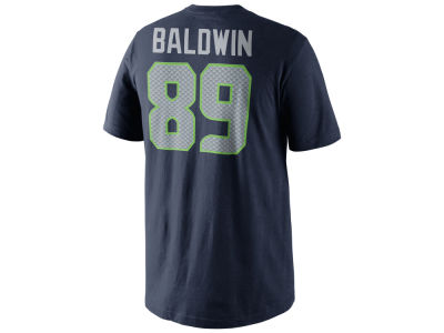 Seattle Seahawks Doug Baldwin Nike NFL Men's Pride Name and Number T-Shirt