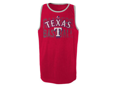 Texas Rangers MLB Youth Valiant Victory Tank