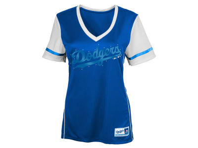 Los Angeles Dodgers MLB Youth Girls Curveball T-Shirt