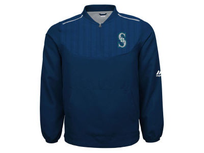 Seattle Mariners MLB Youth On Field Training Jacket