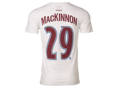 Colorado Avalanche Nathan MacKinnon  Reebok NHL Men's Player T-Shirt