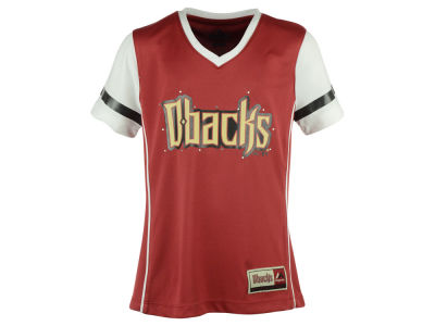 Arizona Diamondbacks MLB Youth Girls Curveball T-Shirt