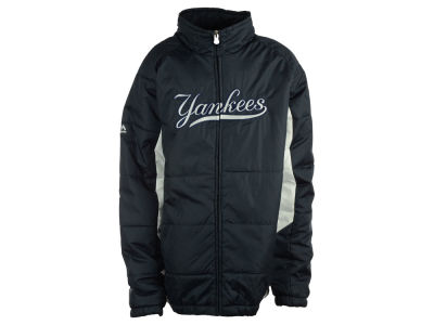New York Yankees MLB Youth Double Climate On-Field Jacket