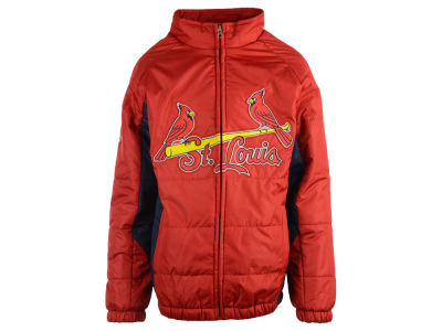 St. Louis Cardinals MLB Youth Double Climate On-Field Jacket