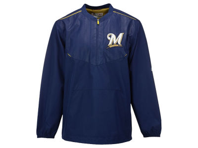 Milwaukee Brewers Majestic MLB Men's AC Training Jacket